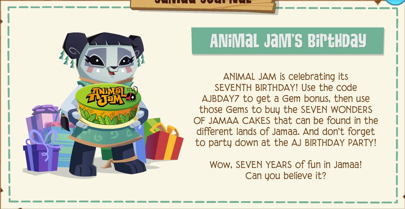 Seven Wonders Of Jamaa Cakes Animal Jam Wiki Fandom Powered By Wikia