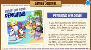 Penguins Welcome December
