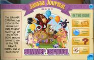 Summer carnival jamaa journal