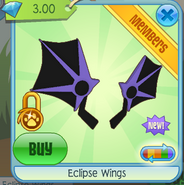 Eclipse Wings purple