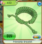 Friendship Bracelet (Leaf-Green, Coloration Variation 07)