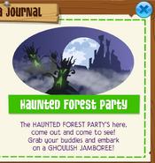 Hauntedforestparty jamaa journal