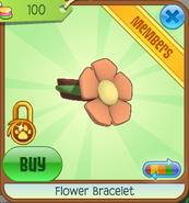 Shop Flower-Bracelet Orange