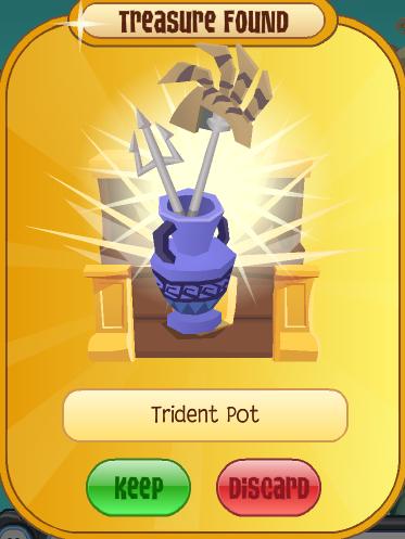 Trident Pot Animal Jam Wiki Fandom Powered By Wikia