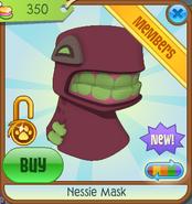 Bahari-Bargains Nessie-Mask Maroon