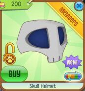 Skull Helmet 3