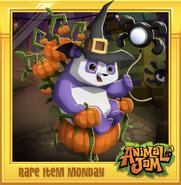 Rare-Item-Monday Pumpkin-Throne