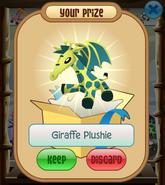 The-Claw Giraffe-Plushie Dragon