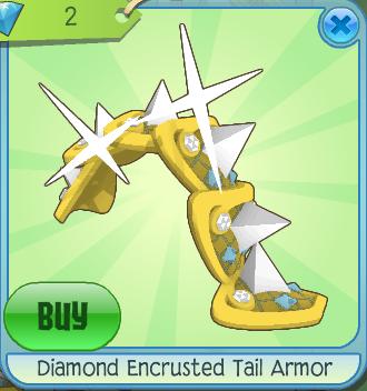 Diamond Encrusted Tail Armor Animal Jam Wiki Fandom Powered By Wikia