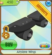 Airplane Wings 2012 black