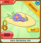 Rare Gardening Hat