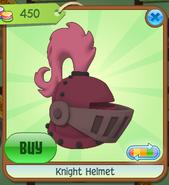 Shop Knight-Helmet Magenta