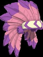 Dark Pink Headdress