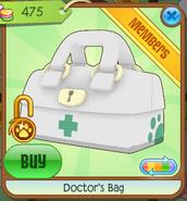 Medical-Center-Shop Doctors-Bag White