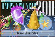 JAG Happy New Year 2011