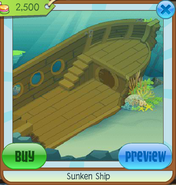 Ocean Den Sunken Ship