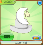 Moon Hat white