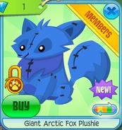 Giant Arctic Fox Plushie 9