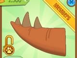 Stegosaurus Tail