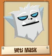 Treasure-Hunt-Prizes Yeti-Mask