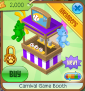 Carnival Game Booth 8