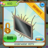 Underwater HDTV brown