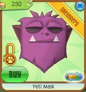 Yeti Mask new purple