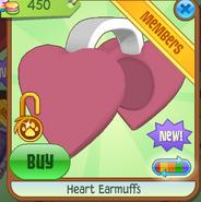 Heart Earmuffs 2