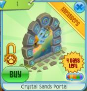Crystal Sands Portal blue