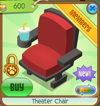 Basic Information  sc 1 st  Animal Jam Wiki - Fandom & Theater Chair | Animal Jam Wiki | FANDOM powered by Wikia