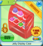BHS Jelly Display Case red