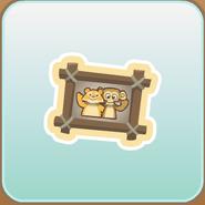 Jag Stamp picture frame