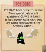 Jamaa-Journal Vol-100 Pet-Bats