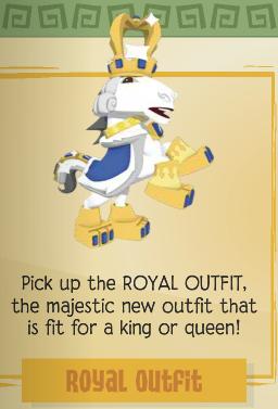 Royal Outfit Animal Jam Wiki Fandom Powered By Wikia