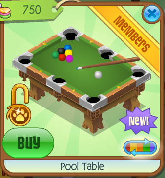 Pool Table Animal Jam Wiki FANDOM Powered By Wikia - Best place to buy a pool table