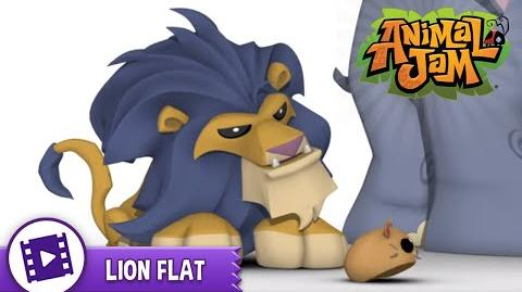 Animal Jam Presents Lion Flat!
