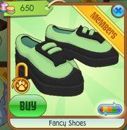 Fancy Shoes (Leaf-Green)