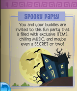 Spooky party jamaa journal1
