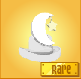 Item Rare Moon Hat white