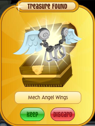 Mech Angel Wings
