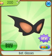 Bat glasses animal jam wiki fandom powered by wikia - How to get a bat on animal jam ...