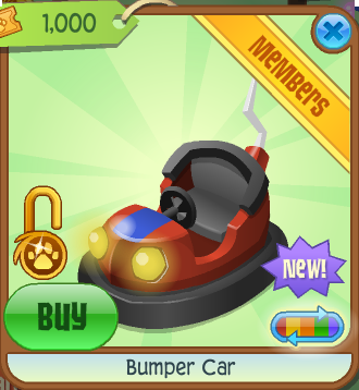Bumper Car Animal Jam Wiki Fandom Powered By Wikia