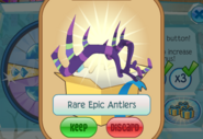 Member-Spin-Gift Rare-Epic-Antlers