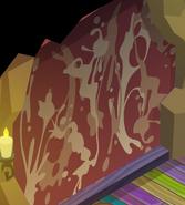 Pecks-Den Dust-Striped-Walls