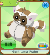 Giantlemurplushie10