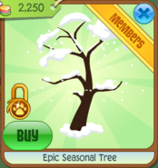 Epic Seasonal Tree Winter