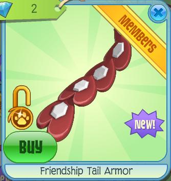 Friendship Tail Armor Animal Jam Wiki Fandom Powered By Wikia