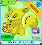 Giant Arctic Fox Plushie 6