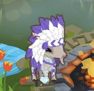 Goat headdress glitch