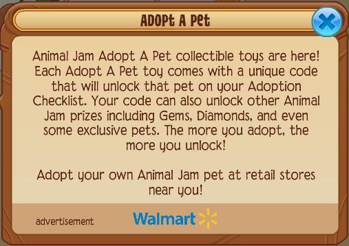 Adopt A Pet Checklist Animal Jam Wiki Fandom Powered By Wikia
